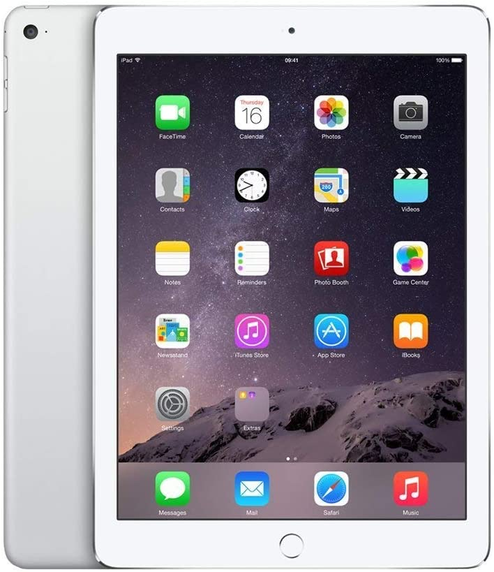 Apple iPad Air 2, 32 GB, Silver, (Renewed)