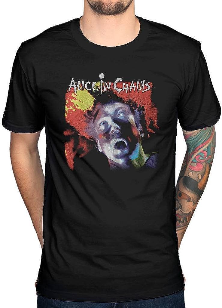 ALICE IN CHAINS LOGO 1 Black New T-shirt Rock T-shirt Rock Band Shirt