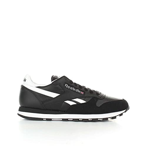 Zapatillas Reebok - Cl Leather TRC Negro/Blanco/Gris: Amazon.es: Zapatos y complementos