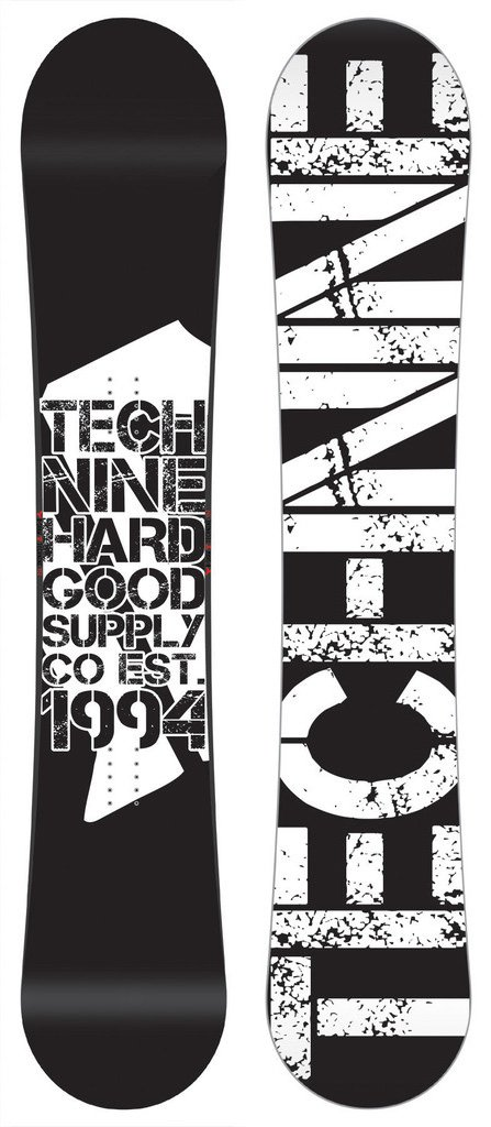 Technine T-Money Snowboard 153 cm ブラック