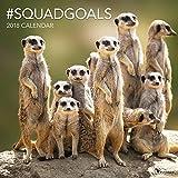 2018 #SquadGoals Wall Calendar