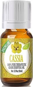 Cassia Essential Oil - 100% Pure Therapeutic Grade Cassia Oil - 10ml