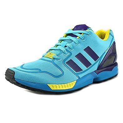 0aa6a79ec2e9f adidas  AF6304 ZX Flux Mens Sneakers ADIDASCLAOUA BOAOUA FTWWHT AQUCLAM
