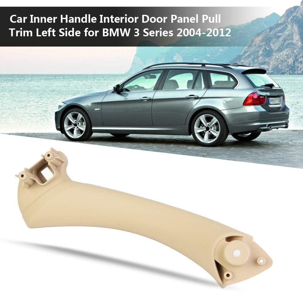 Tirador del lado izquierdo de la puerta interior del autom/óvil Beige tirador de la puerta del autom/óvil Tirador del tirador del interior del panel del interior de la puerta del autom/óvil