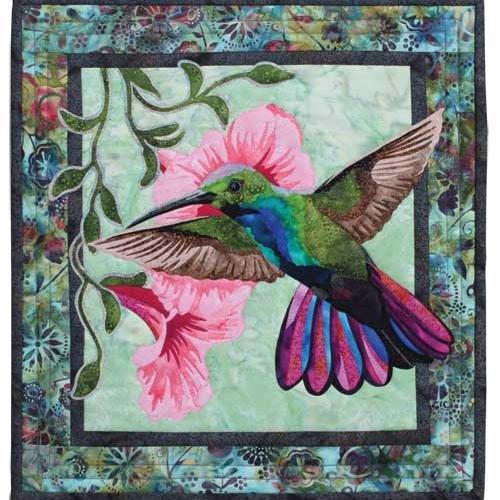 Hummingbird Wall Quilt Pattern