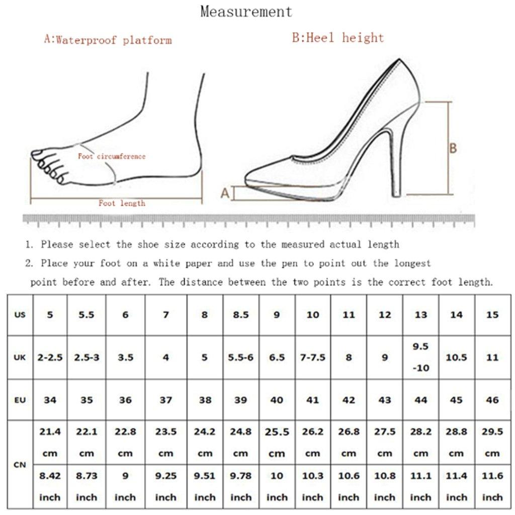 LFF.FF Damen Runder Kopf Römische Schuhe Schuhe Schuhe Stiefel mit Hohem Absatz Vordere Durchbrochene 023311