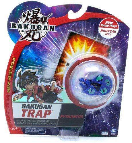 Bakugan Battle Brawlers New Vestroia Bakugan Trap - Pythantus (Blue Color)