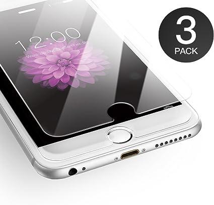 magasins d'usine grossiste trouver le travail AXHKIO Verre Trempé Compatible avec iPhone 6 Plus/ iPhone 6s Plus Film de  Protection, ANTI RAYURES, SANS BULLES D'AIR, 9H Ultra Résistant Dureté