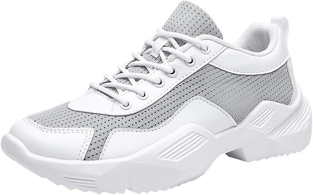 beautyjourney Zapatilla de Malla para Hombre Mosca Tejer Zapatillas de Correr Zapatos de Viaje Calzado Deportivo de Ocio Zapatillas de Deporte Talla 39-44: Amazon.es: Ropa y accesorios