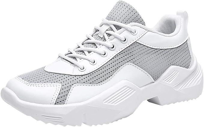 Zapatillas Hombres Zapatos Deportivos para Hombres - Zapatos Casuales para Caminar Antideslizantes de Moda Zapatos Deportivas Atléticos al Aire Libre Gimnasio: Amazon.es: Ropa y accesorios