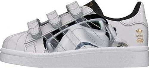 Adidas Superstar Stormtrooper Cf I, Ftwr Blanc-blanc-ftwr Noyau Noir, 19
