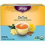 Yogi Tea, Detox, 32 Count (Pack of 4), Packaging May Vary