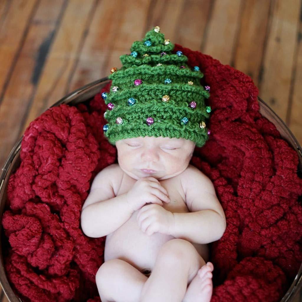 UOMOGO Natale Cappellini Invernale Bambina Bambini Natalizia Cappello Uomo Inverno Donna Divertente Lavorati a Maglia Cappeli Bimbo Elegnate Festa Regalo Bimba Ragazza Ragazzi