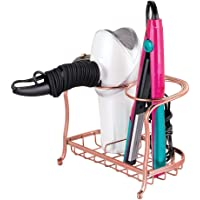 mDesign Soporte para secador de pelo o rizador