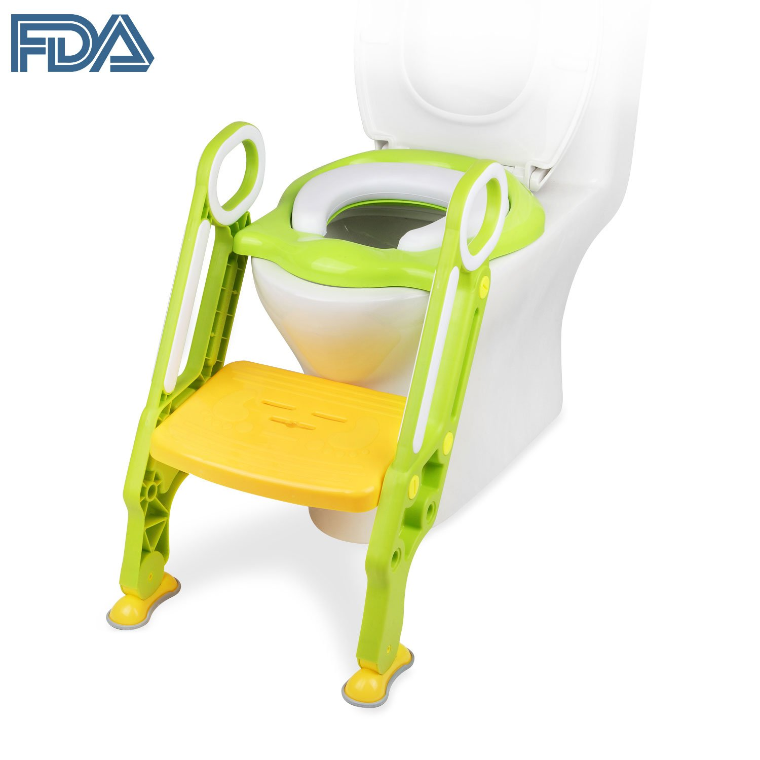 Amazon.com : [FDA Certified] Ostrich Toilet Step Trainer Ladder for ...