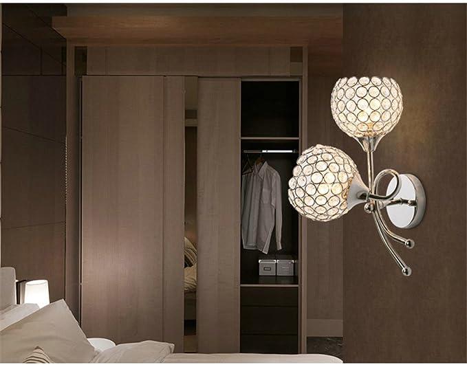 Illuminazione Led Camera Da Letto : Lampada da parete a parete creative crystal lampada lampada