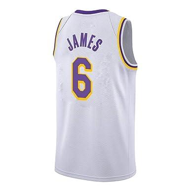 Camisetas de Baloncesto para Hombre - Lakers: Lebron James 6 ...
