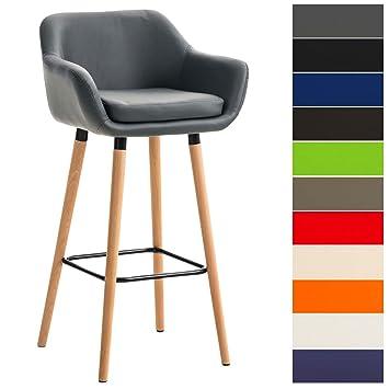 Scandinave Et Tabouret Bar Clp Similicuir Industriel Avec Accoudoir Confortable De Grant Dossier Chaise Haute Design YfI7b6vgy