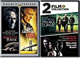 4 Film Collection Clint Eastwood True Crime / Absolute Power + Trouble with The Curve & Million Dollar Baby DVD Feature movie set