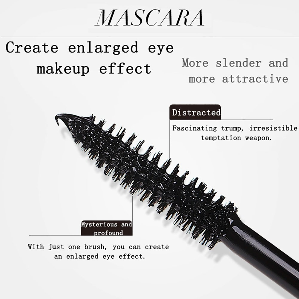 Amazon.com : Ofanyia Mascara Cream, Thicking & Curling, long-lasting & waterproof, Eyelash extension Black Mascara Cream : Beauty