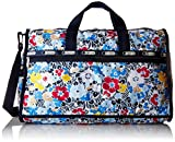Cheap LeSportsac Large Weekender Bag, Ocean Blooms Navy, One Size