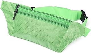 Fjiujin,Sac de Taille pour Course d'escalade en Plein air Sac de Taille Invisible Unisexe en Plein air(Color:Vert)