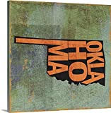 greatBIGcanvas Gallery-Wrapped Canvas entitled Oklahoma by Art Licensing Studio 24''x24''