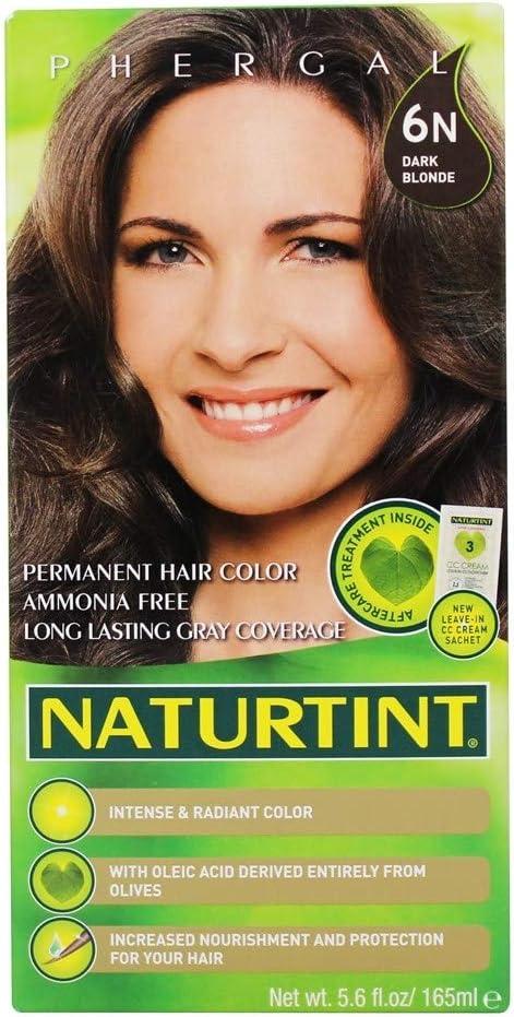 Naturtint Permanent Hair Color, 6N Dark Blonde, 5.6 fl oz (165 ml)