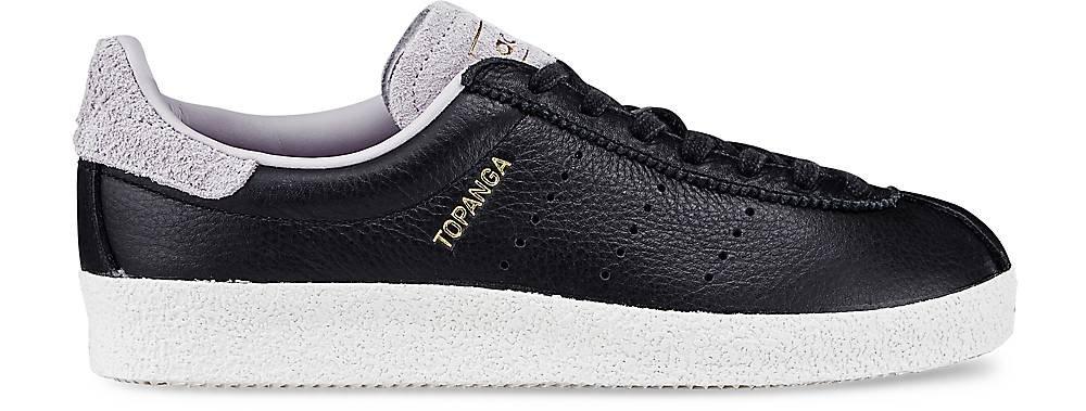 Adidas Zapatillas Topanga Men Clean s80073Blanco y Negro, Color Negro, Talla 40 2/3