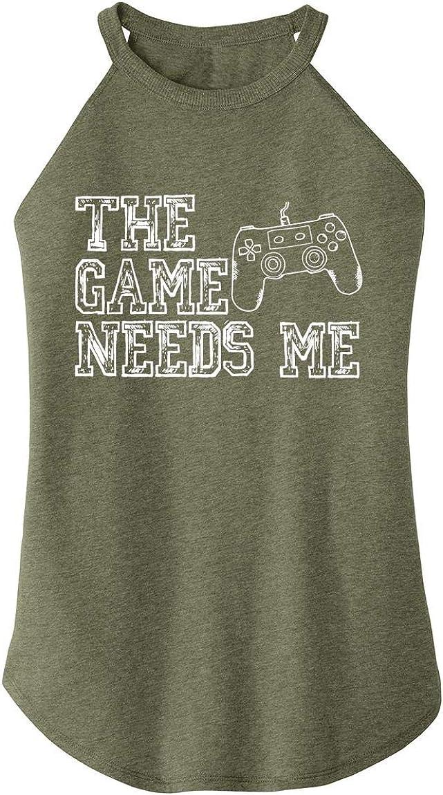 Comical Shirt Ladies The Game Needs Me Rocker
