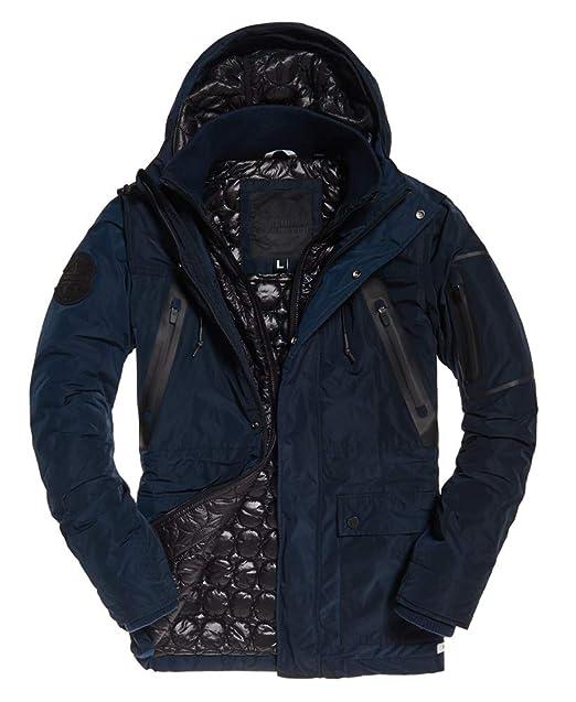 limited style best wholesaler shop Superdry Mens Vessel Parka Navy at Amazon Men's Clothing store