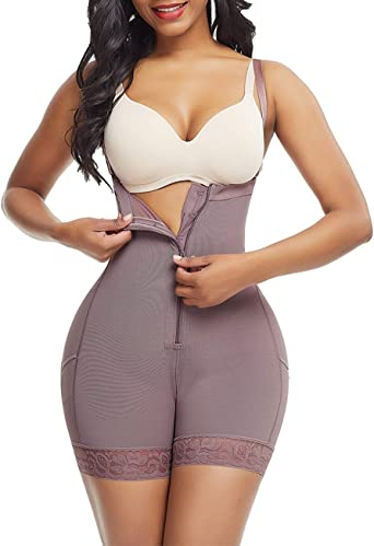Women/'s Seamless Tummy Control Thigh Slimming Butt Lift Body Shaper