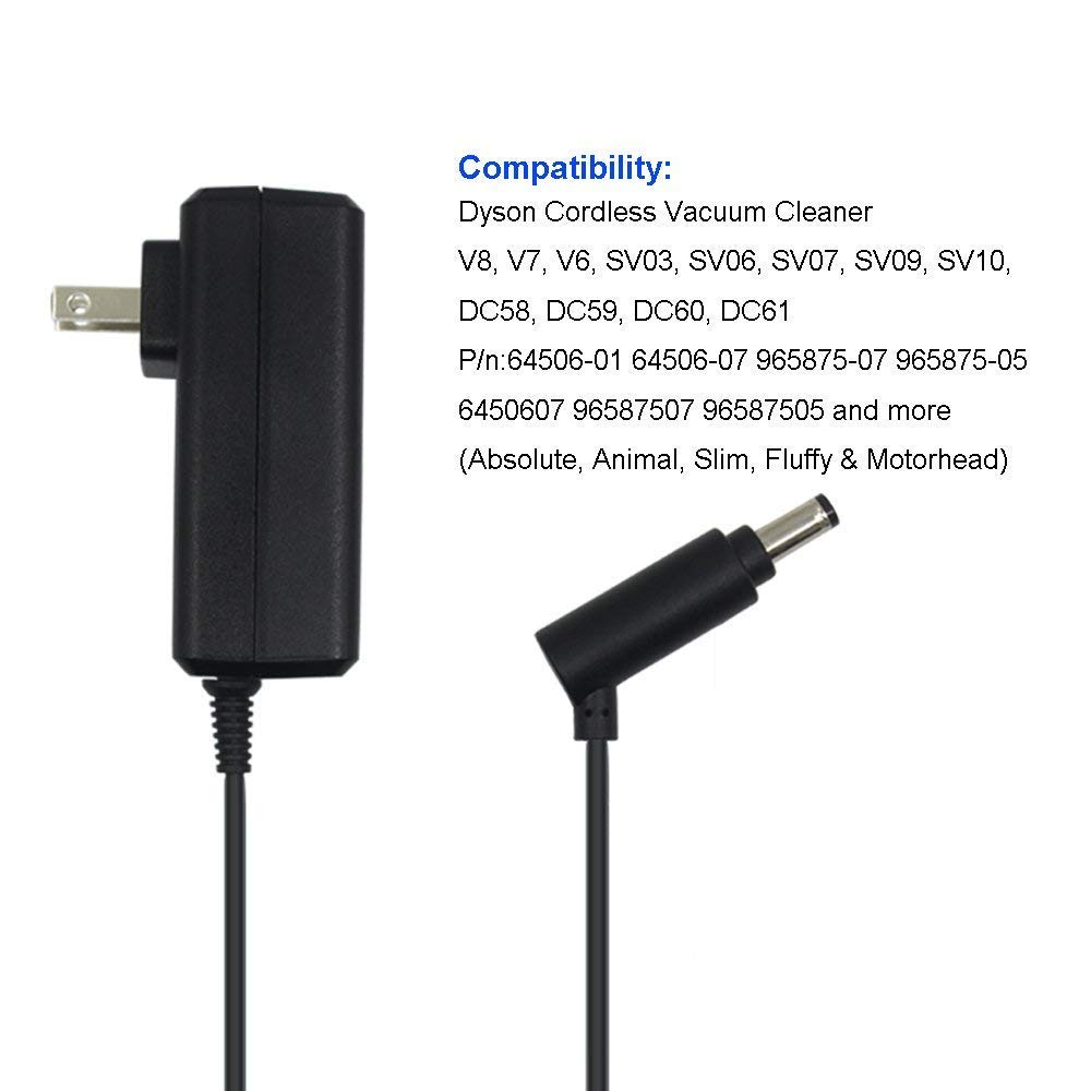 Amazon.com: AC Adapter 26.1V 0.78A Cargador de aspiradora ...