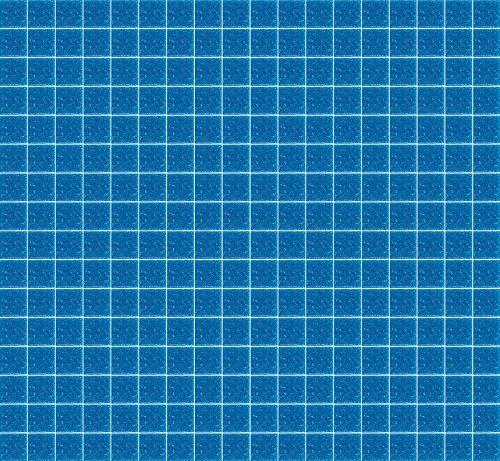 Price comparison product image MosaixPro 200 g 10 x 10 x 4 mm 302-Piece Glass Tiles, Azure Blue by MosaixPro