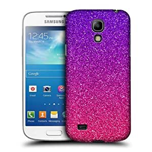 AIYAYA Samsung Case Designs Ombre Glitter Trend Mix Protective Snap-on Hard Back Case Cover for Samsung Galaxy S4 mini I9190 Duos I9192
