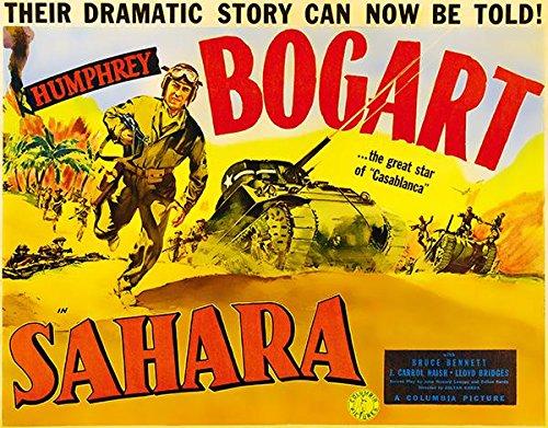 Sahara - 1943 - Movie Poster Sahara Movie Poster