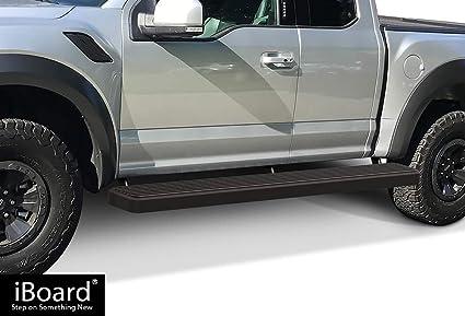 Wheel To Wheel Running Boards >> Amazon Com Aps 6 Wheel To Wheel Black Nerf Bars Fit 15 19