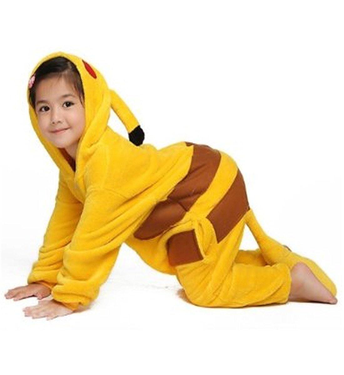 WOWcosplay Pokemon Pikachu Kigurumi Pijama Animal Cosplay Disfraz de Halloween