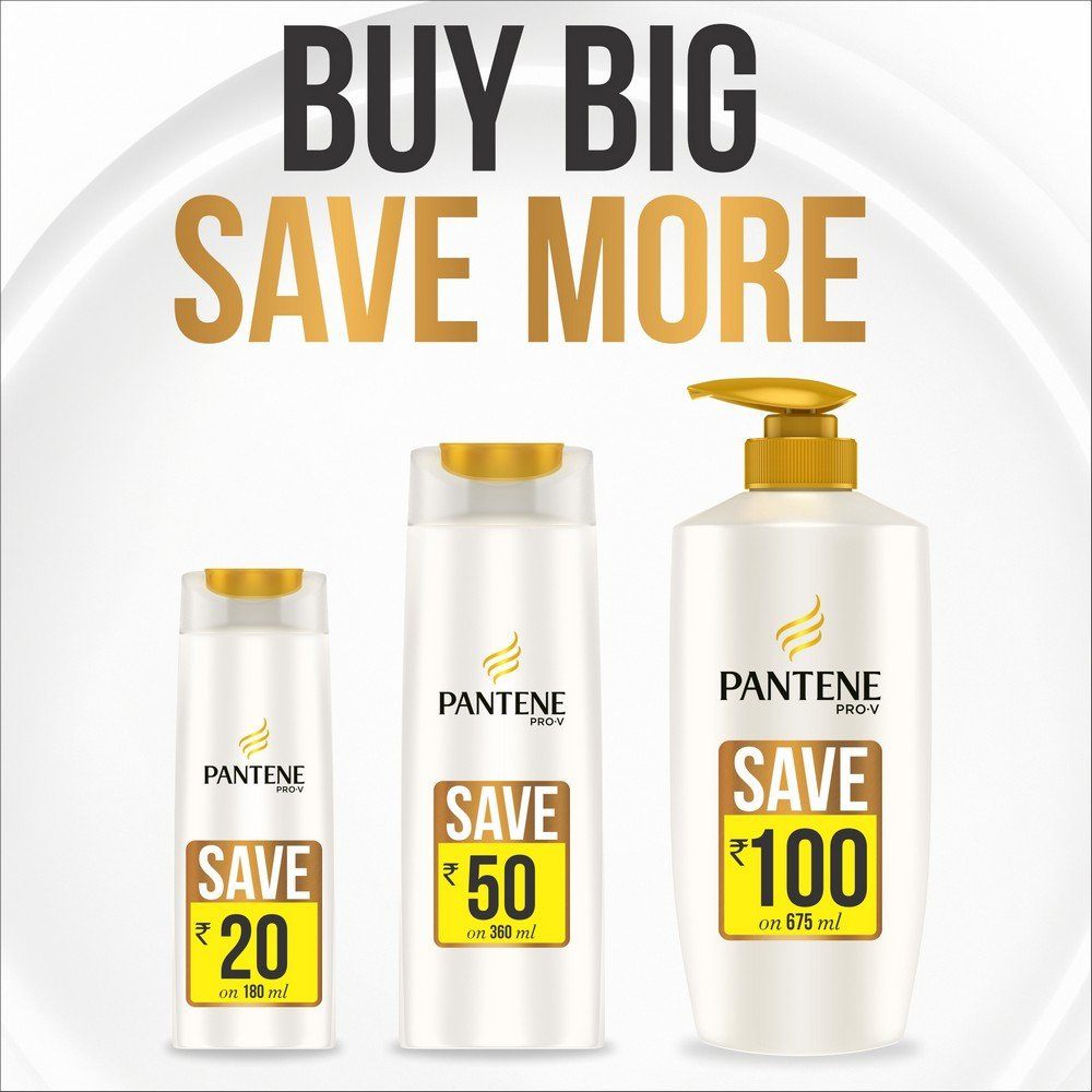 Buy Pantene Hairfall Control Shampoo 360ml Online At Low Prices In Pro V Hair Fall 480ml India