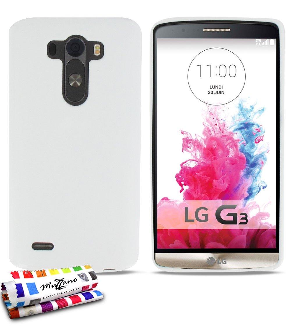 MUZZANO F430127 - Funda para LG G3, Color Blanco: MUZZANO: Amazon ...