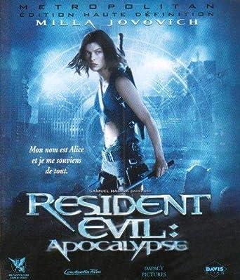 Amazon Com Resident Evil Apocalypse Blu Ray Movies Tv