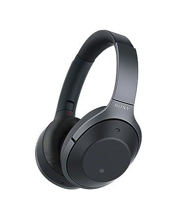 Sony WH-1000XM2 Bluetooth High-Resolution Kopfhörer (Noise Cancelling, kabellos, NFC, Headphones Connect App, bis zu 30 Stund