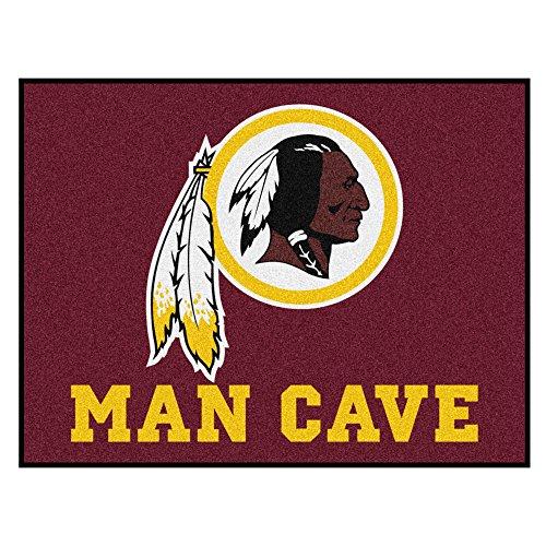 - FANMATS 14385 NFL Washington Redskins Nylon Universal Man Cave All-Star Mat