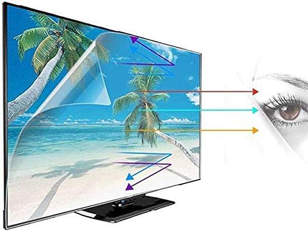 YSHCA 43-52 Pulgadas Protector De Pantalla De TV, Anti Luz Azul TV Protección de Pantalla Antirreflejos Filtro De Luz Alivia La Fatiga Ocular, para HDTV LCD/LED/OLED,47Inch/ 1044x590mm: Amazon.es: Hogar