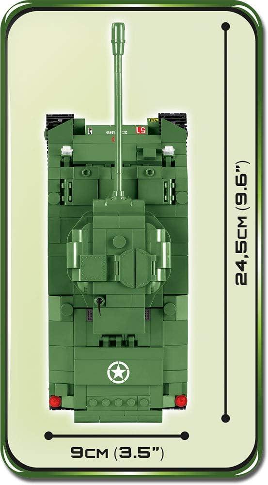 COBI TOYS #2515 Small Army Sherman Firefly Tank Building Model