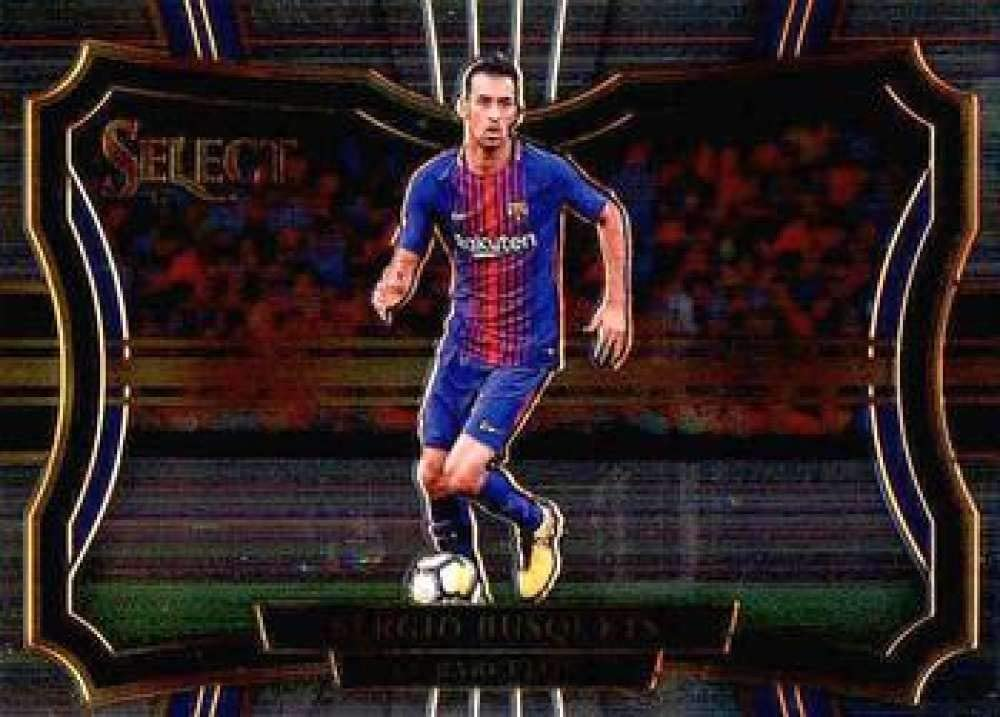Amazon Com 2017 18 Select Soccer 209 Sergio Busquets Fc Barcelona Field Level Official Futbol Trading Card Picturing Players In Their National Team Uniform From Panini America Collectibles Fine Art