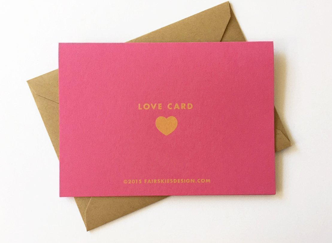 Xoxo Love Stationery Set Gold On Pink Paper Set Of 6 Cards Handmade