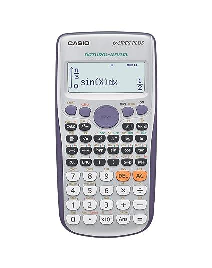 Casio FX-570ES PLUS - Calculadora científica 80 x 162 x 13.8 mm ...