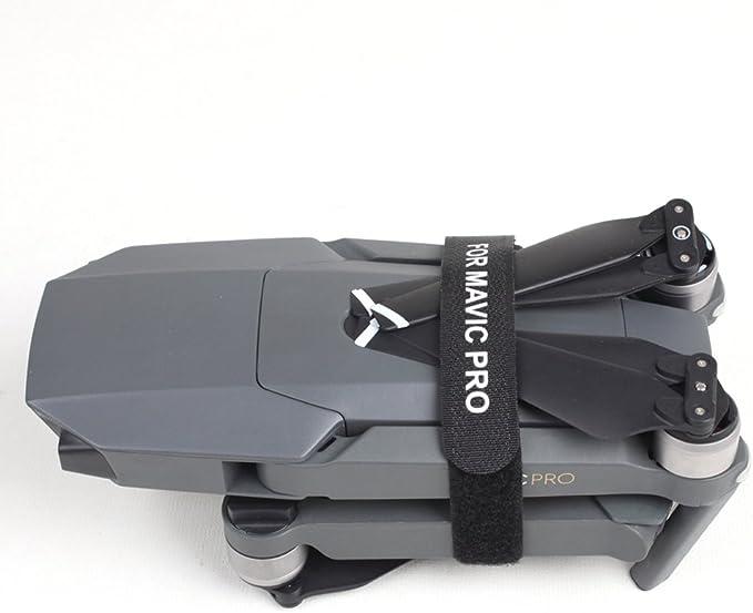 Kingwon 2 Piezas de Propulsor Titular del Motor Estabilizador Guardia Correa de Protección de la Hoja para dji Mavic Pro Drone Protección Accesorios ...