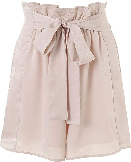 Señoras Cintura Imperio Calientes Pantalones con Cordón De Algodón ...